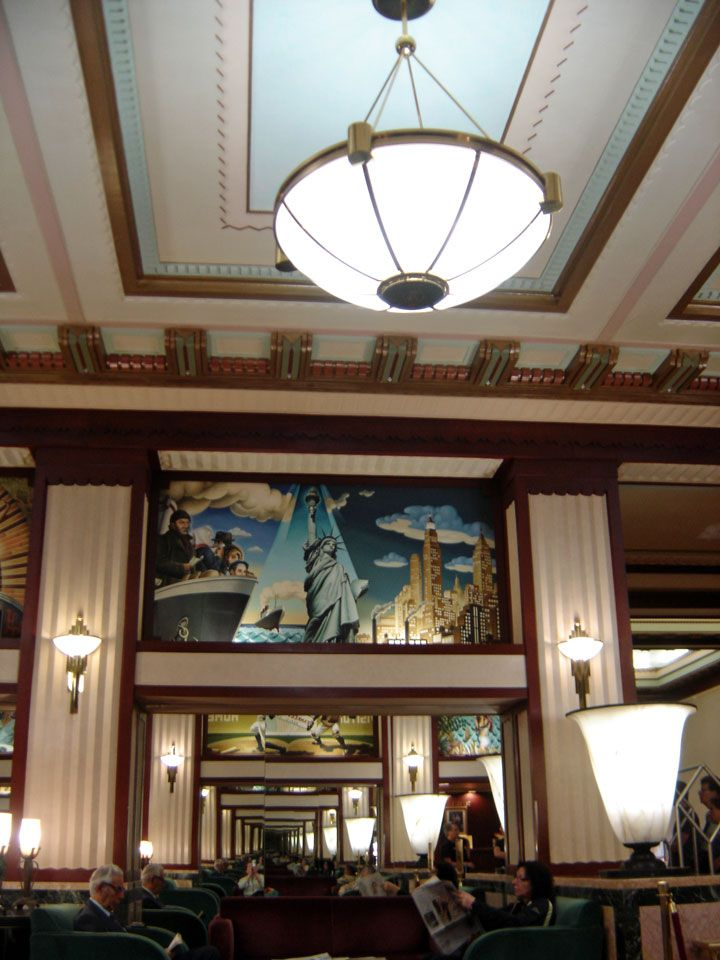 Art Deco Murals In New York City