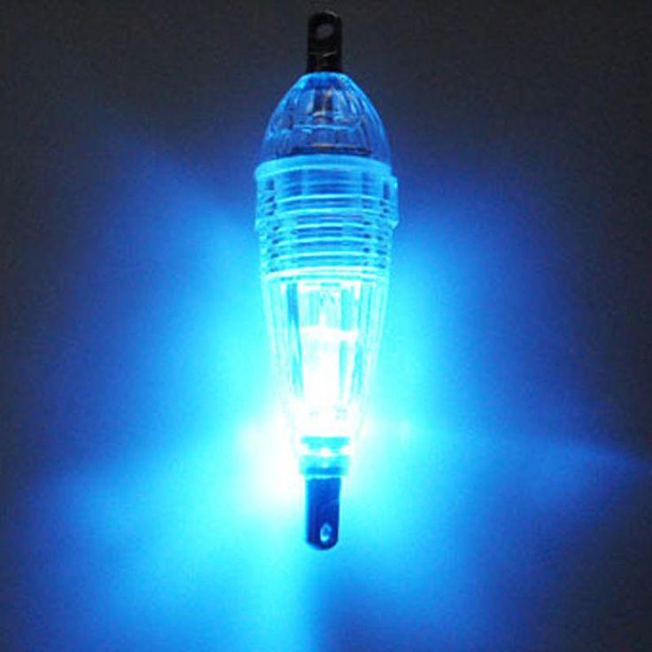 BLUE RED WHITE GREEN MINI LED DEEP DROP UNDERWATER FISHING SQUID FISH LURE LIGHT FLASHING LAMP