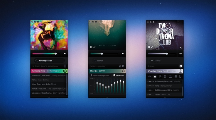 Stay up to date with daily web design news:  http://www.fb.com/mizkowebdesign    music app    #webdesign #design #designer #inspiration #user #interface #ui #web