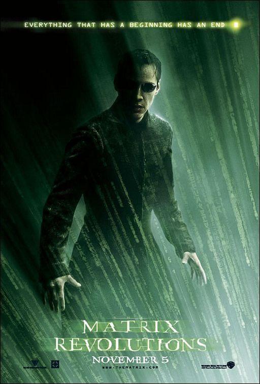 Matrix revolutions (2003) EEUU. Dirs: Andy e Larry Wachowski. Acción. Ciencia ficción. Thriller - DVD CINE 608-III