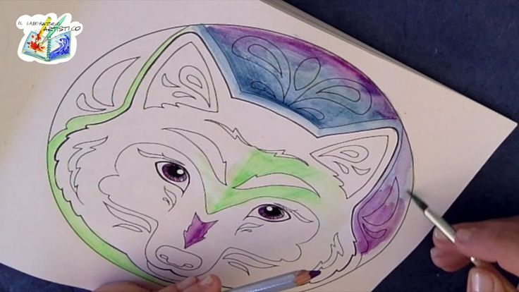 Tutorial: Mandala con le matite acquerellabili