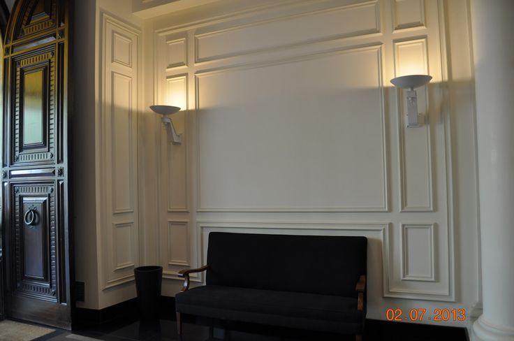 Las combinaci n de molduras de orac decor en paredes y - Molduras para paredes ...