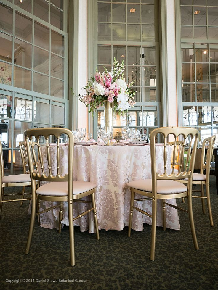 Critsey Rowe Photography, Carey Roberts Design, Daniel Stowe Botanical Garden Wedding Showcase, Best Impressions Caterers, Party Reflections, Tablescape, Centerpiece, Reception, pink, gold