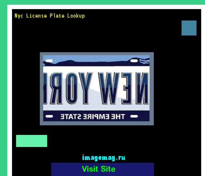 Nyc license plate lookup 191309 - The Best Image Search