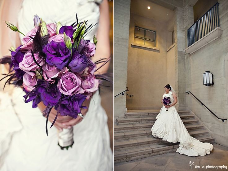 I think I like this Wisteria Wedding Bouquet as well ...