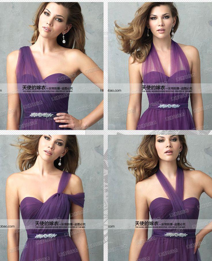 Les 25 meilleures id es de la cat gorie demoiselle d for Robes violettes plus la taille pour les mariages
