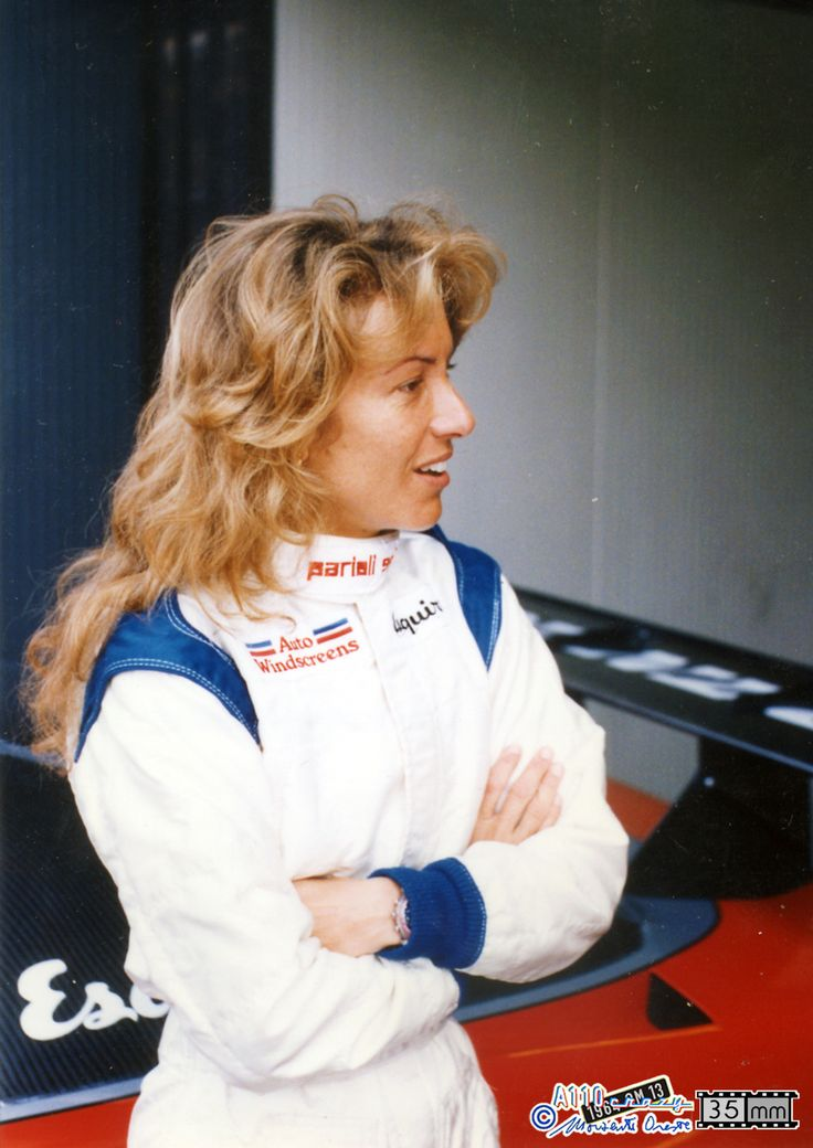 Monza, anni 90, Giovanna Amati. Photo Oreste Morzenti