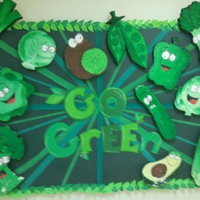 Go Green-Introduce good health and nutrition