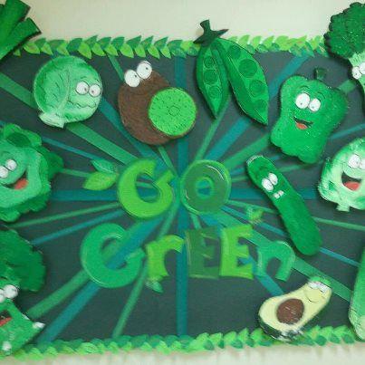 Go Green-Introduce good health and nutrition