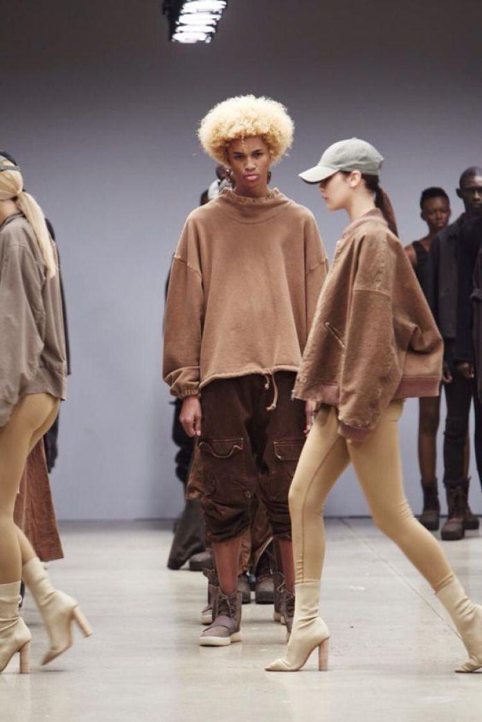 The Most Iconic Celebrity Fashion Looks Of The Decade Yeezy Fashion Show Yeezy Season 2 Celebrity Fashion Looks