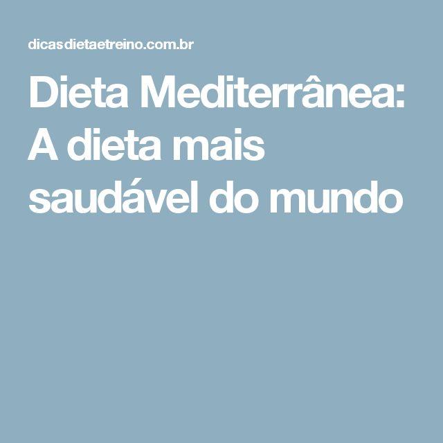 Dieta Mediterrânea: A dieta mais saudável do mundo                              …