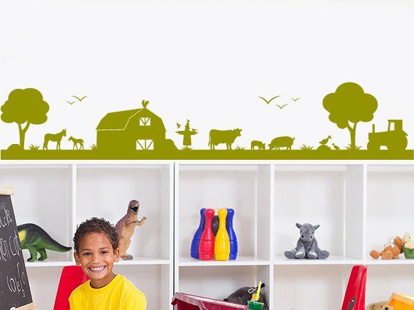 25 einzigartige wandtattoo kinderzimmer tiere ideen auf pinterest wandtattoo tiere s e - Wandtattoo traktor kinderzimmer ...