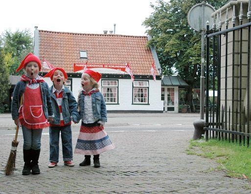 De Konijnenberg, speurtocht in het Groendaalse bos in Heemstede, kinderboerderij en pannenkoekenhuis