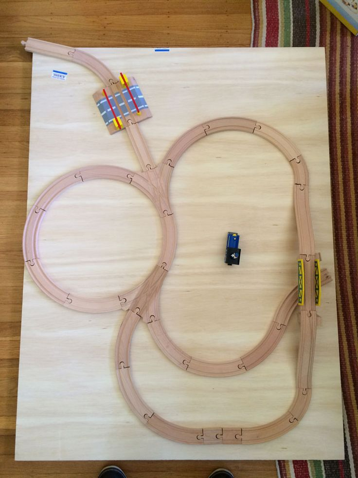 Do It Yourself Wooden Train Table In Less Than 24 Hours
