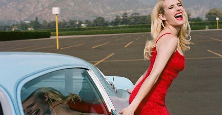 Emma Roberts y Elijah Wood I Prada