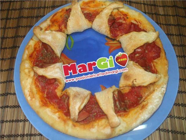 Pizza petali di fiori MarGi