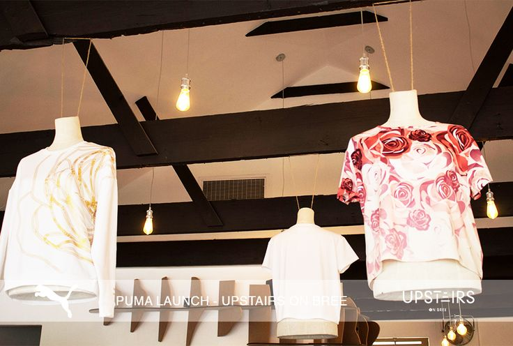 Upstairs on Bree Puma Launch  #puma #clothing #decor #event #pumaclothing #venue #productlaunch