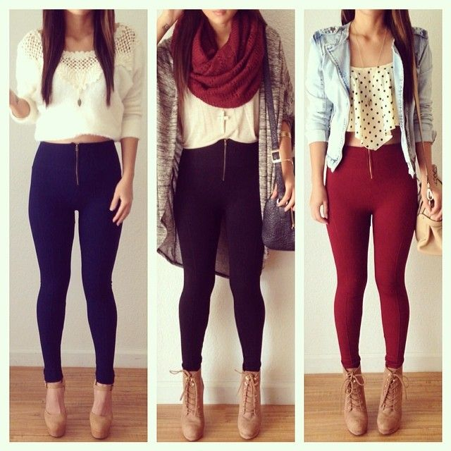Cute Winter Outfits With Leggings Tumblr Www Pixshark