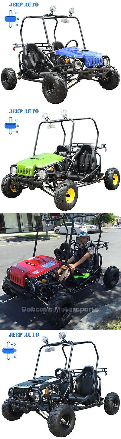 Complete Go-Karts and Frames 64656: New Youth Go Kart 110Cc Children Kid Jeep Atv Automatic With Reverse Free Helmet -> BUY IT NOW ONLY: $1450 on eBay!
