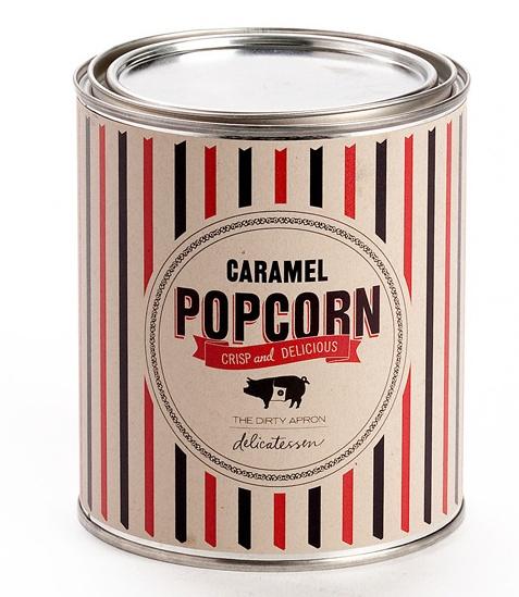 Caramel Popcorn packaging
