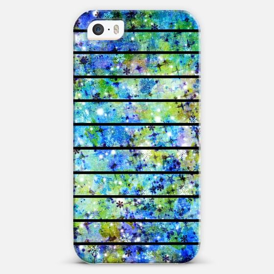 STRIPES AND SNOWFLAKES by Artist Julia Di Sano, Ebi Emporium on #Casetify @Casetify, Winter Colorful Blue Green White Black Space Galaxy Galactic Striped Pattern Modern Trendy Cool Fine Art Painting Design #iPhone #tech #device #case #cover #painting #pattern #stripes #galaxy #galactic #trendy #chic #bluegreen #stars #cellphone #phonecase #giftforher Get $10 off using code: 5K7VFT
