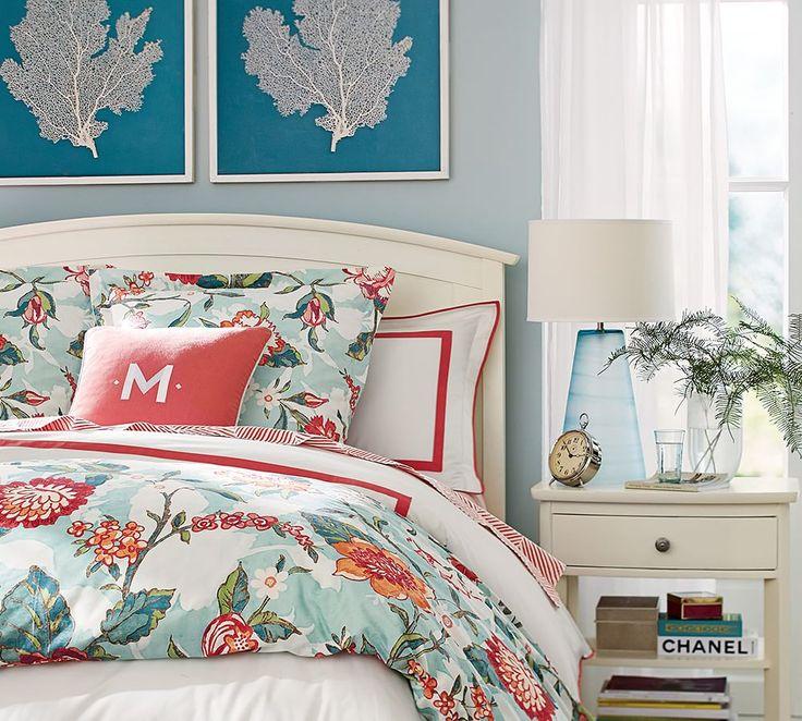 Die besten 25+ Coral and turquoise bedding Ideen auf ...