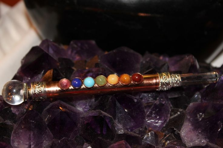 how to use a copper healing wand