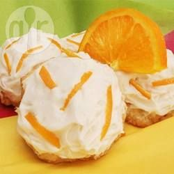 Orange Biscuits with Orange Icing @ allrecipes.com.au