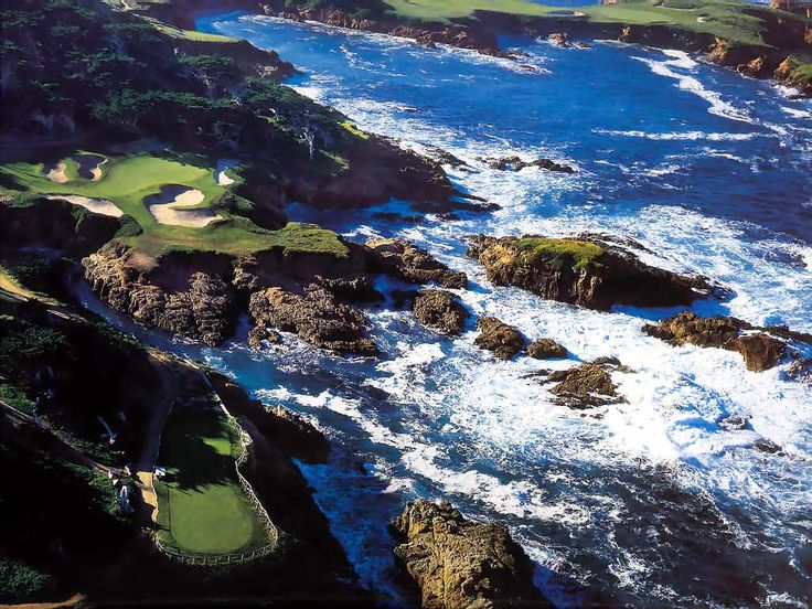 Cypress Point Club in Monterrey, CA.  Unfortunately, this golf bucket list item may never occur..one of the most private clubs in the world.