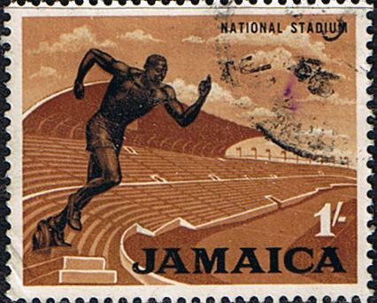 Jamaica 1964 National Stadium Fine Used       SG Scott 226 Other West Indies and British Commonwealth Stamps HERE!