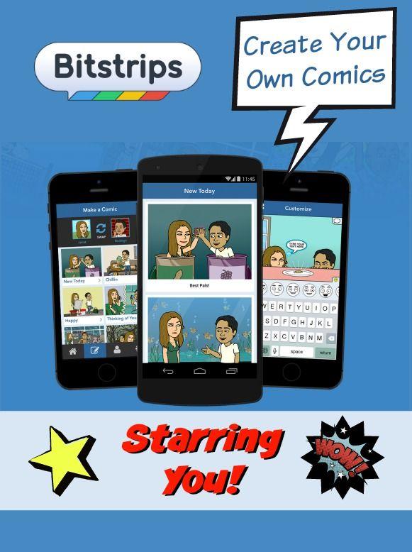 Bitstrips — Create Your Own Comics Starring You! http://www.wonderoftech.com/bitstrips/