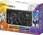 Nintendo - New 3DS XL Solgaleo Lunala Black Edition  Nintendo Pokemon Sun & Pokemon Moon games (Pre-Order) $200 #LavaHot http://www.lavahotdeals.com/us/cheap/nintendo-3ds-xl-solgaleo-lunala-black-edition-nintendo/119378