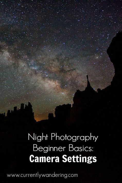 Night Photography Beginner Basics! We explain which camera settings to use and how to get crisp stars.