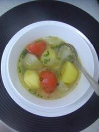 スウェーデンの素朴なフェンネルスープ
