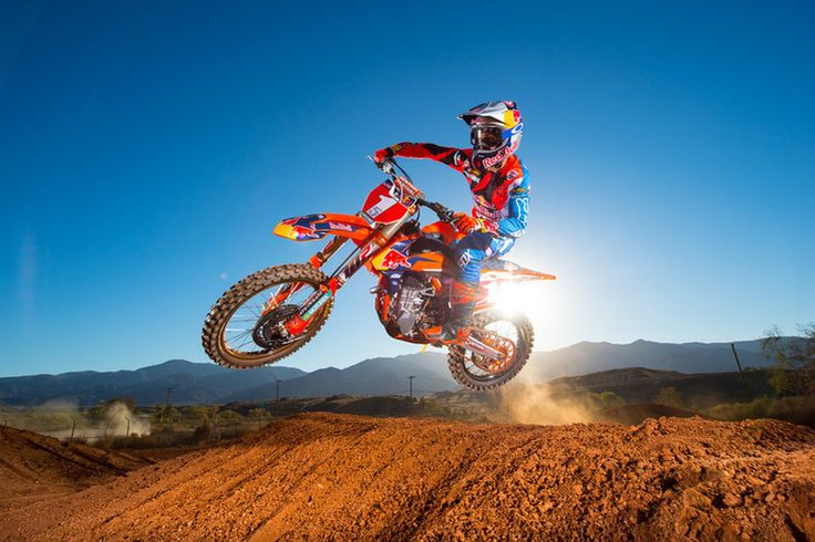 """A pure Motocross bike …"""" talking about the factory KTM 450 SX-F: When Tony Cairoli crossed the finish line at the Dutch Grand Prix earlier…"""