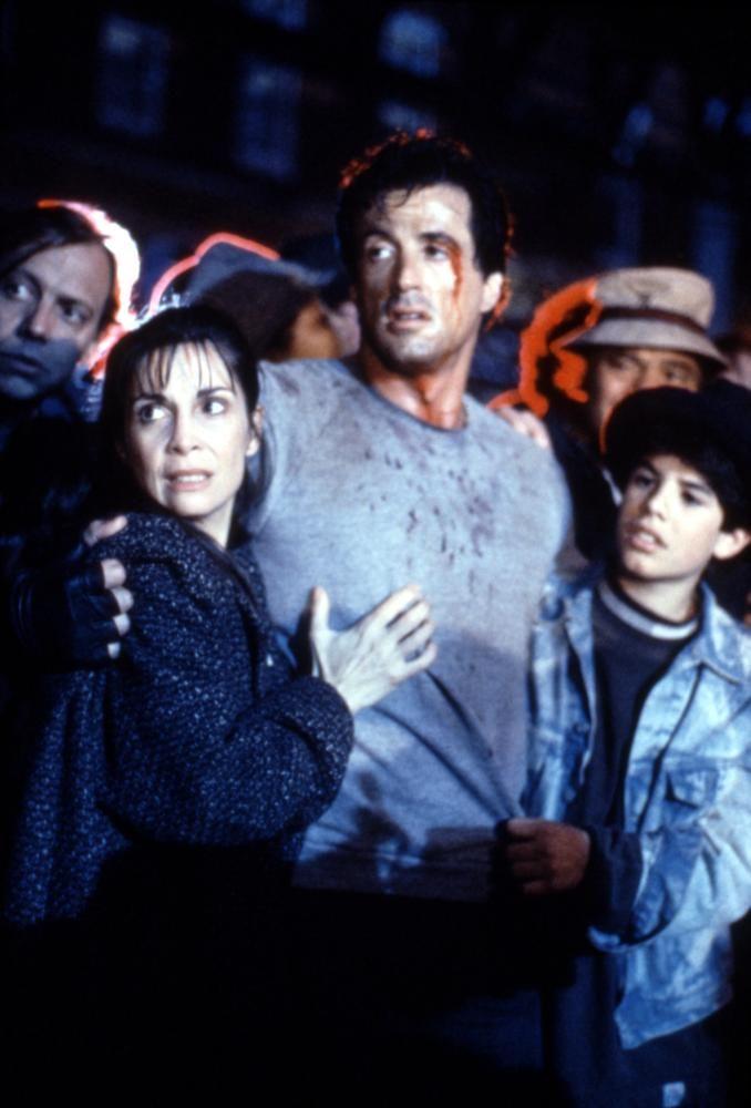 Sylvester Stallone and Talia Shire | ROCKY V, Talia Shire, Sylvester Stallone, Sage Stallone, 1990, (c ...