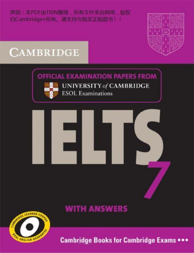 Cambridge Practice Tests for IELTS 7 by Shqiprim CANI via slideshare