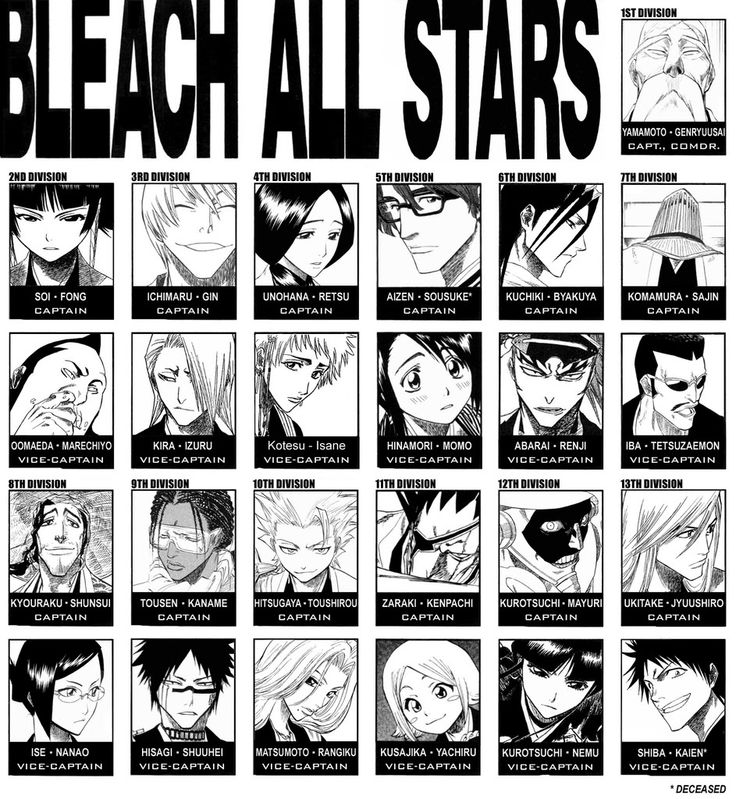 Photo Collection In The Bleach
