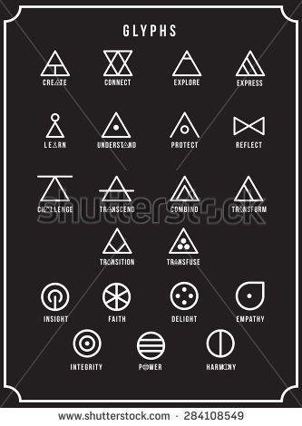Glyphs – #Glyphs #symbol