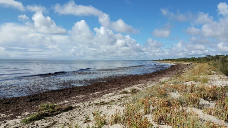 Quindalup Autumn sea and sky colours
