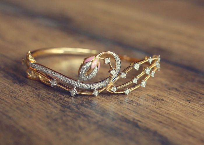 tanishq diamond bracelet designs - Google Search