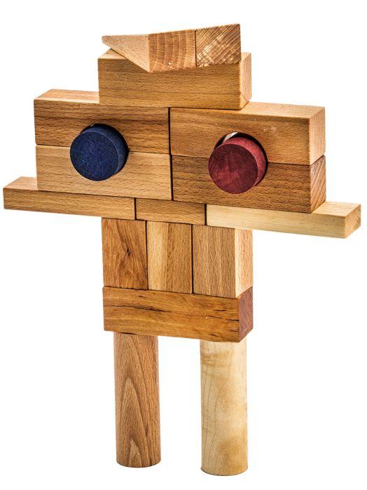 Robot z klocków