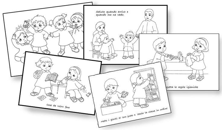 Nell'Archivio di Scuola da Colorare sono stati aggiunti cinque nuovi disegni sulle regole da rispettare in classe. Per avere maggiori informazioni sugli altri contenuti del sito clicca QUI.