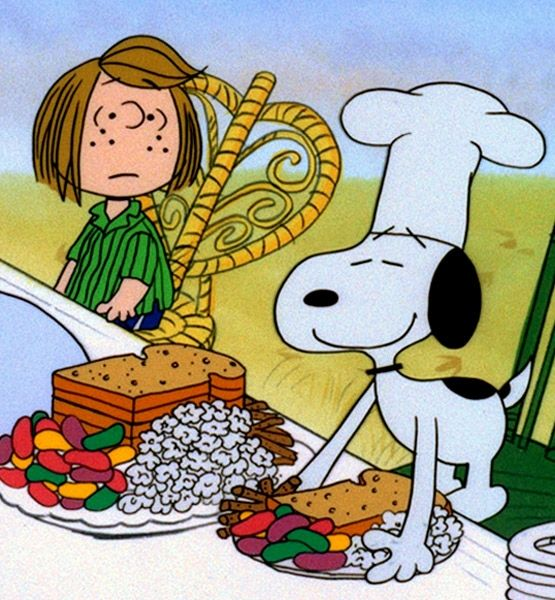 Thanksgiving Fun Facts - Peanuts Ritual | Gallery | Glo
