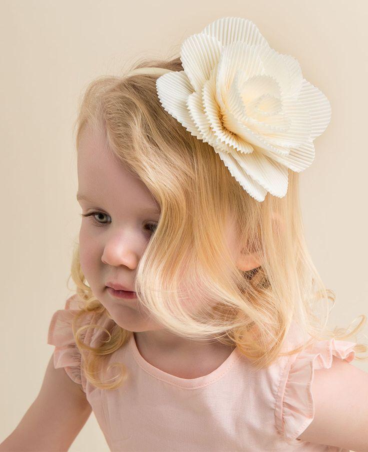 Sunday Rose Headband - Bardot Junior