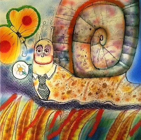 """Original de Manuel Tomás González. Exposición """"Dibujar el cuento. Ilustradores cubanos de libros infantiles"""" (Fundación Cuatrogatos y Cuban Heritage Collection de la Universidad de Miami). Octubre de 2013, en el marco de la Fiesta de la Lectura / The Reading Festival. Se exhibieron originales de importantes ilustradores como Eduardo Muñoz Bachs, Reinaldo Alfonso, Rapi Diego, Vicente Rodríguez Bonachea, Alexis Lago, Rosa Salgado, etc."""