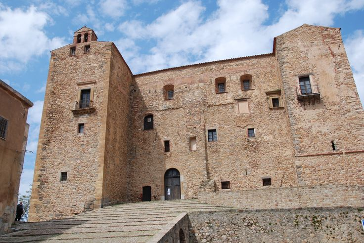 The Castle - Castelbuono - Sicily- Construction of the Castle began in 1316, by order of Count Francesco I of Ventimiglia,