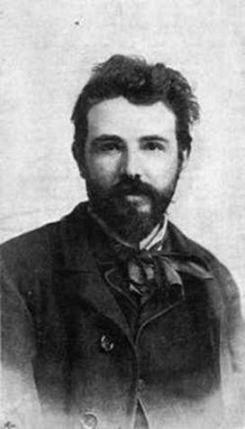 Feszty Árpád festőművész.