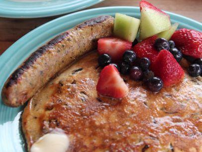 Wild Rice Pancakes Recipe : Ree Drummond : Food Network