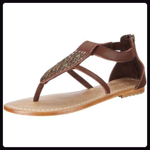 Mystique 2486, Damen, Sandalen/Fashion-Sandalen, Braun  (brown), EU 38  (US 7) - Sandalen für frauen (*Partner-Link)
